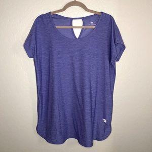 Periwinkle/Blue Short Sleeve Athletic Top
